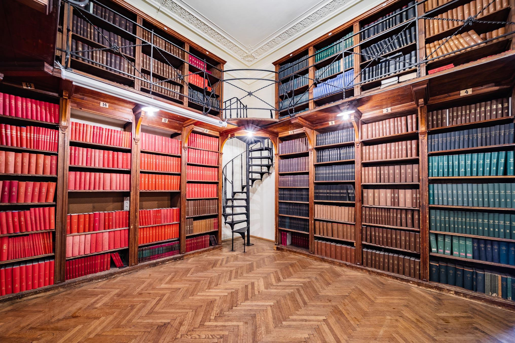Kleine Bibliothek im Billrothhaus