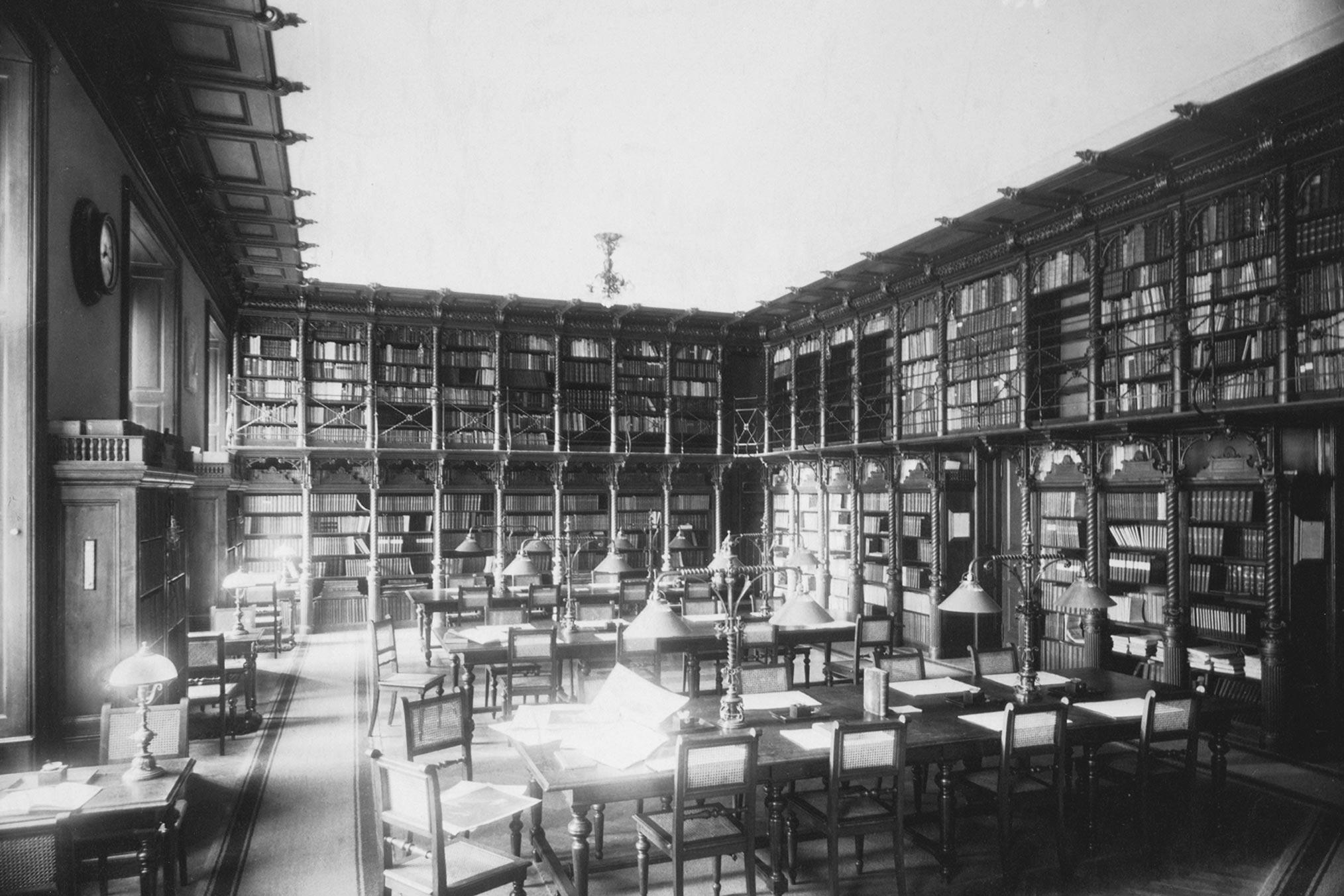 billrothhaus-geschichte-07-grosse-bibliothek-1910